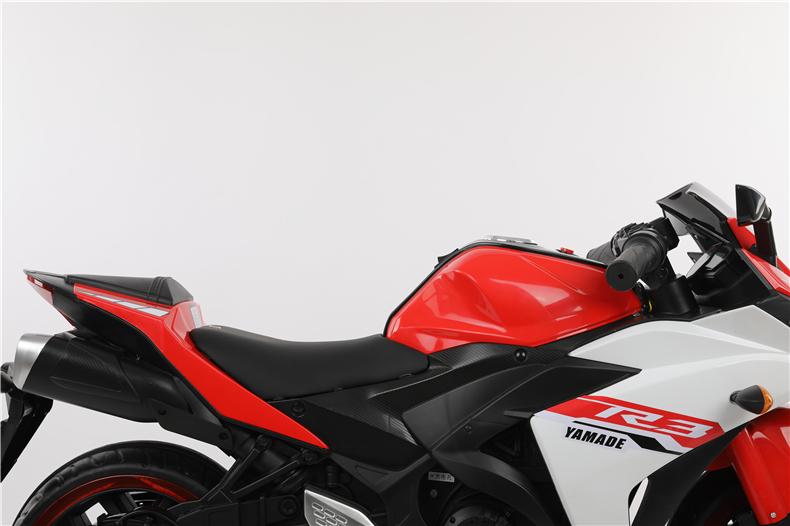 Motocicleta electrica cu scaun din piele Nichiduta Yamade Red - 7