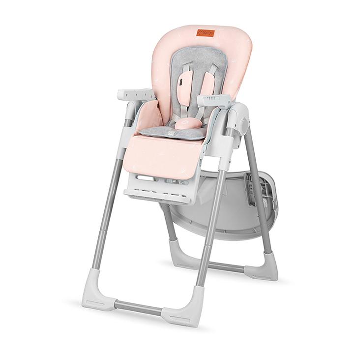 Scaun de masa Yumtis Momi Pink