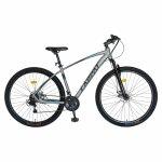 Bicicleta MTB-HT 27.5 inch frane pe disc Carpat CSC27/57C gri cu design albastru/negru