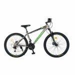 Bicicleta MTB-HT Acura Shimano Tourney 27.5 inch Carpat CSC27/99H gri/negru/verde