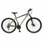 Bicicleta MTB-HT Montana 27.5 inch Carpat CSC27/99A gri/negru/verde