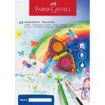 Bloc desen acuarela A4 Faber-Castell 100 file