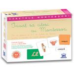 Casetele Montessori Invat sa citesc cu Montessori