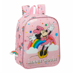Ghiozdan gradinita Minnie Mouse Rainbow