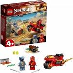 Lego Ninjago motocicleta Blade a lui Kai
