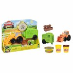 Set wheels tractorul Play Doh