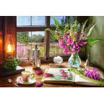 Puzzle Castorland Still Life with Violet Snapdragons 1000 piese