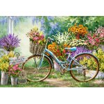 Puzzle Castorland The Flower Mart 1000 piese