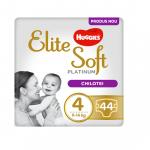 Scutece Elite Soft Pants Platinum Mega Nr 4, 9-14 kg, 44 buc Huggies