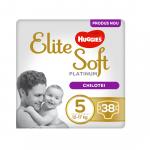 Scutece Elite Soft Pants Platinum Mega Nr 5, 12-17 kg 38 buc, Huggies