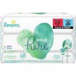 Servetele umede Pampers Aqua Pure 3 pachete 144 buc