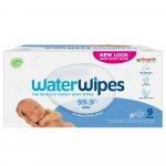 Servetele umede pentru bebelusi Biodegradabile Water Wipes 9 x 60 buc 0 luni+