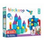 Set cuburi din spuma cu magnet Blockaroo Castel 35 piese
