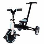 Tricicleta Uonibaby 4 in 1 pliabila si cu maner de impingere Blue