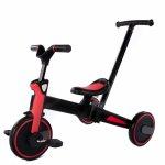 Tricicleta Uonibaby 4 in1 pliabila si cu maner de impingere Red