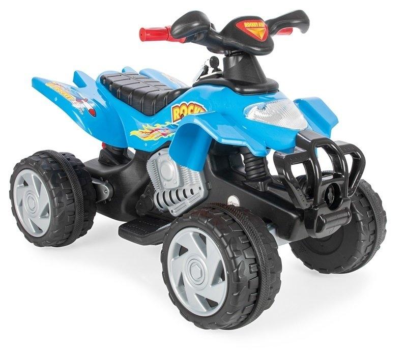 ATV electric pentru copii Pilsan Rocket 12V albastru - 2