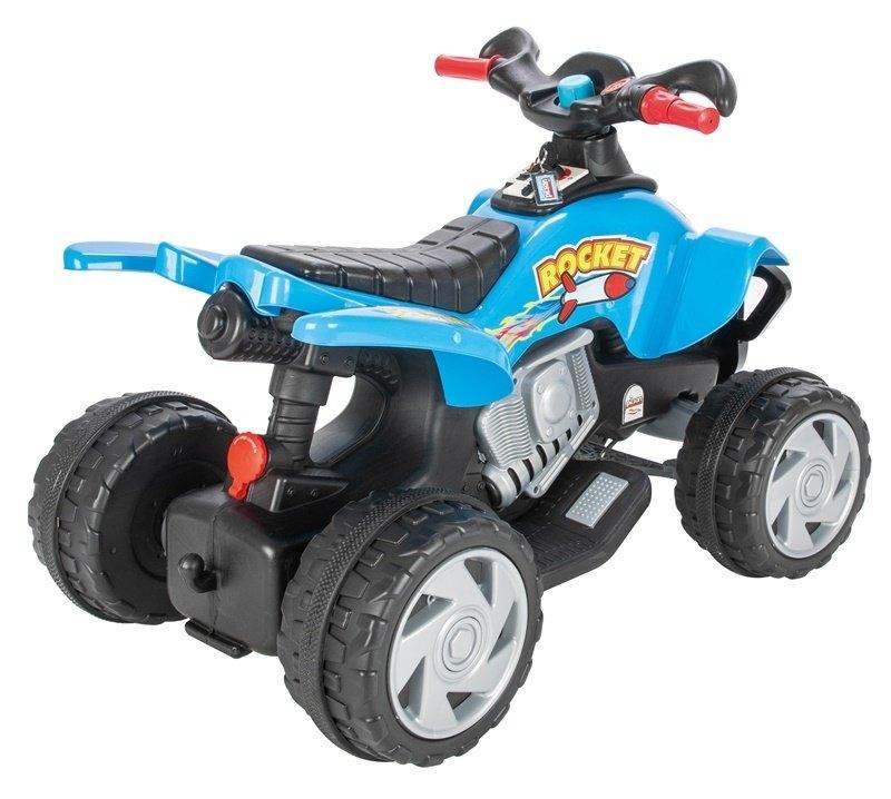 ATV electric pentru copii Pilsan Rocket 12V albastru - 1