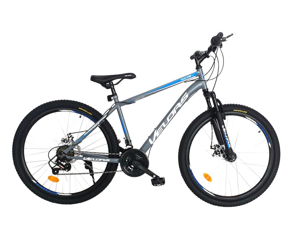 Bicicleta MTB-HT 24 inch Velors Vulcano CSV2409A gri cu albastrualb