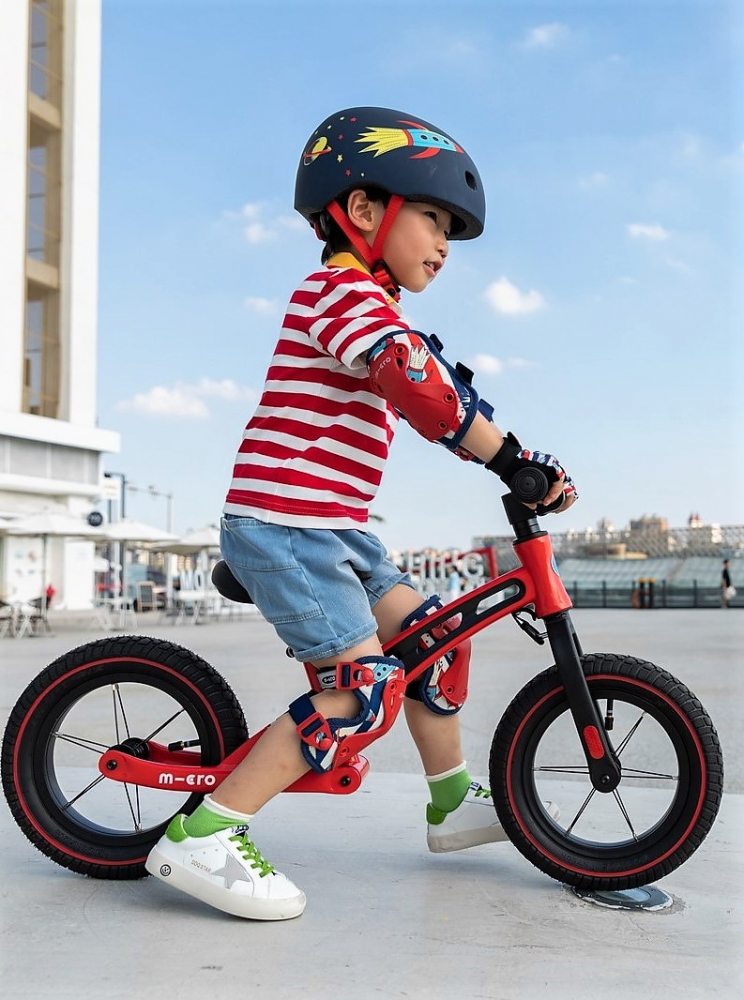 Bicicleta Micro Balance Bike Deluxe Red
