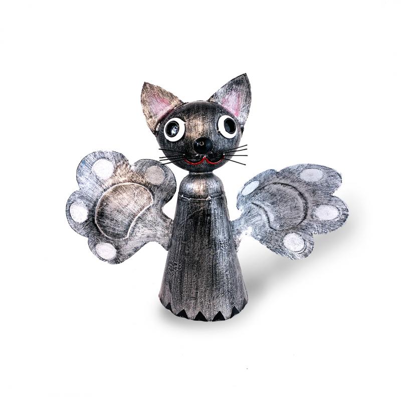 Decoratiune gradina pisicuta cu tija model morisca - 2