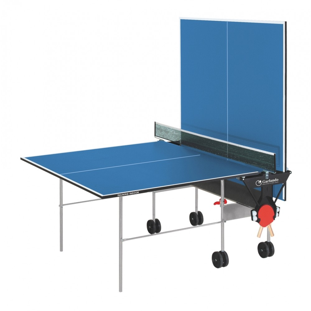 Masa de tenis Garlando Training Indoor Albastra