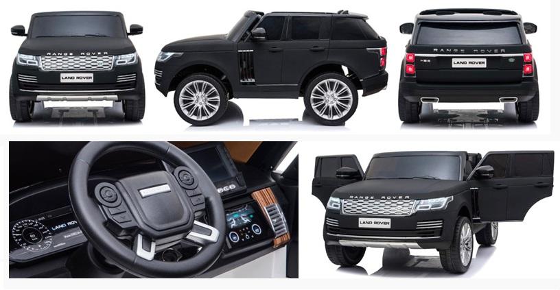 Masinuta electrica Range Rover Vogue Editie Limitata Matt Black - 1