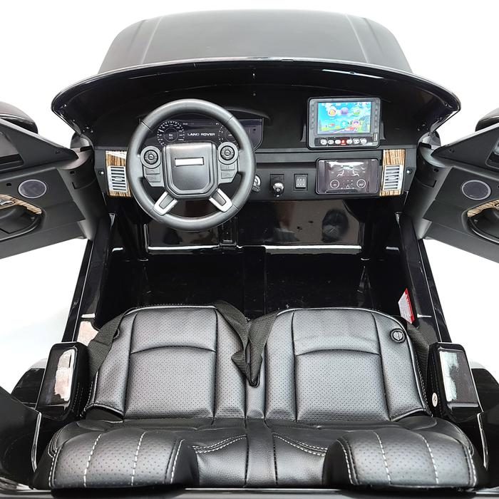 Masinuta electrica Range Rover Vogue Editie Limitata Matt Black - 4