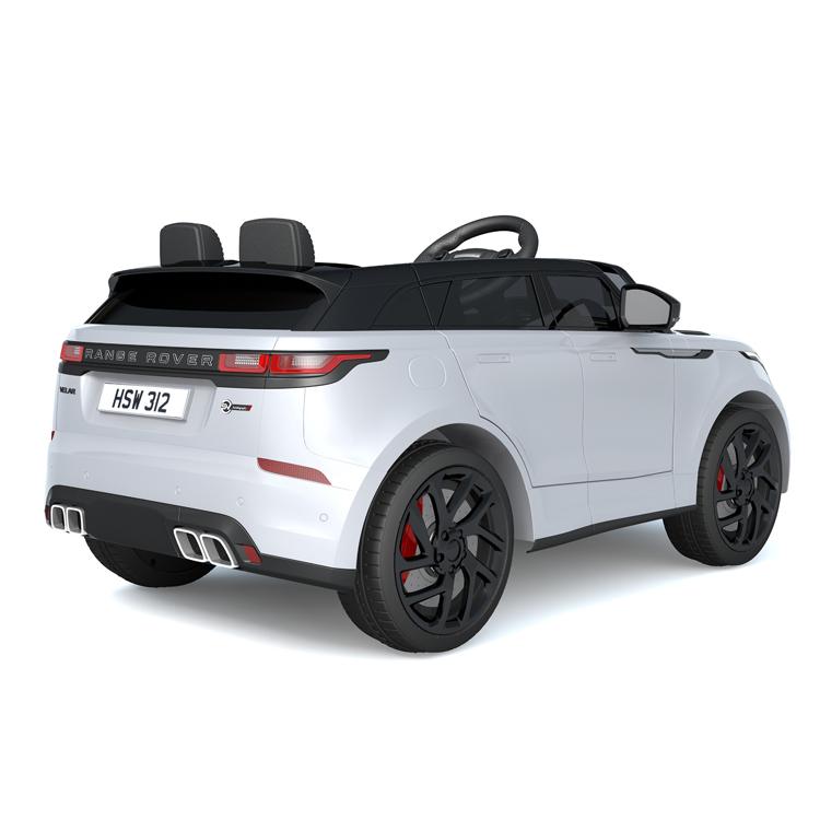 Masinuta electrica cu scaun de piele Range Rover Velar White - 2