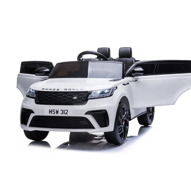 Masinuta electrica cu scaun de piele Range Rover Velar White - 6