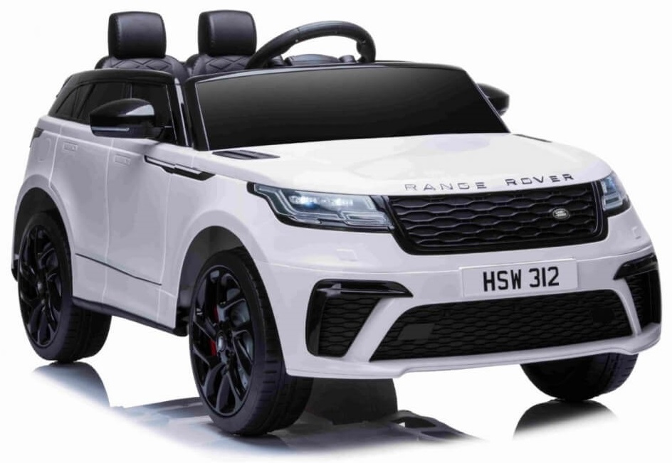 Masinuta electrica cu scaun de piele Range Rover Velar White - 7