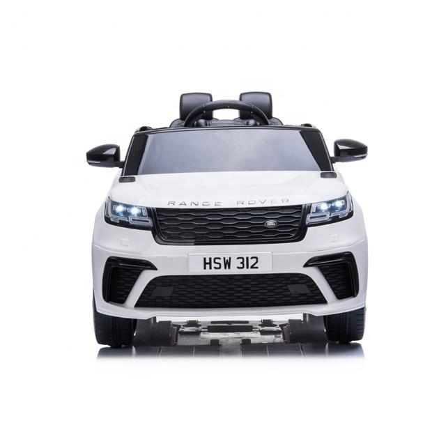Masinuta electrica cu scaun de piele Range Rover Velar White - 8