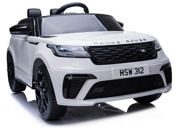 Masinuta electrica cu scaun de piele Range Rover Velar White - 9