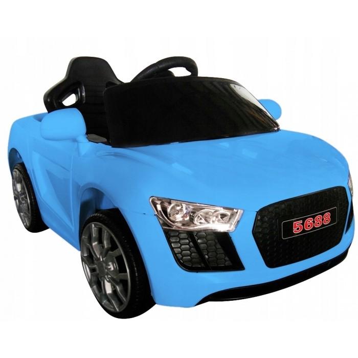 Masinuta electrica cu telecomanda Cabrio AA4 R-Sport albastru