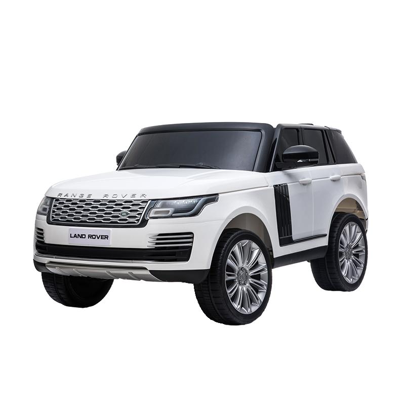 Masinuta electrica cu telecomanda Range Rover Vogue 12V 10Ah White - 7