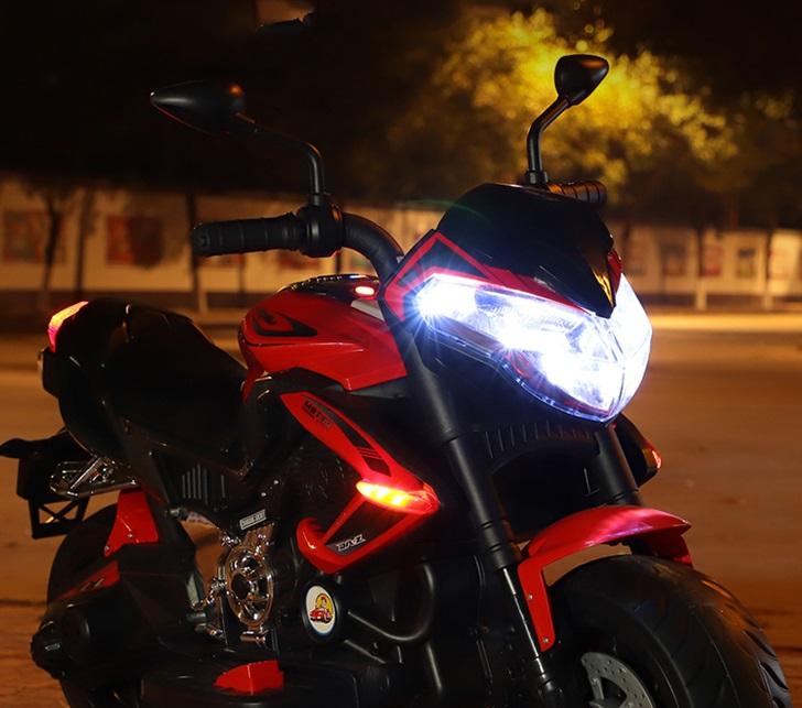 Motocicleta electrica cu doua motoare Nichiduta Moto Speed Red - 6