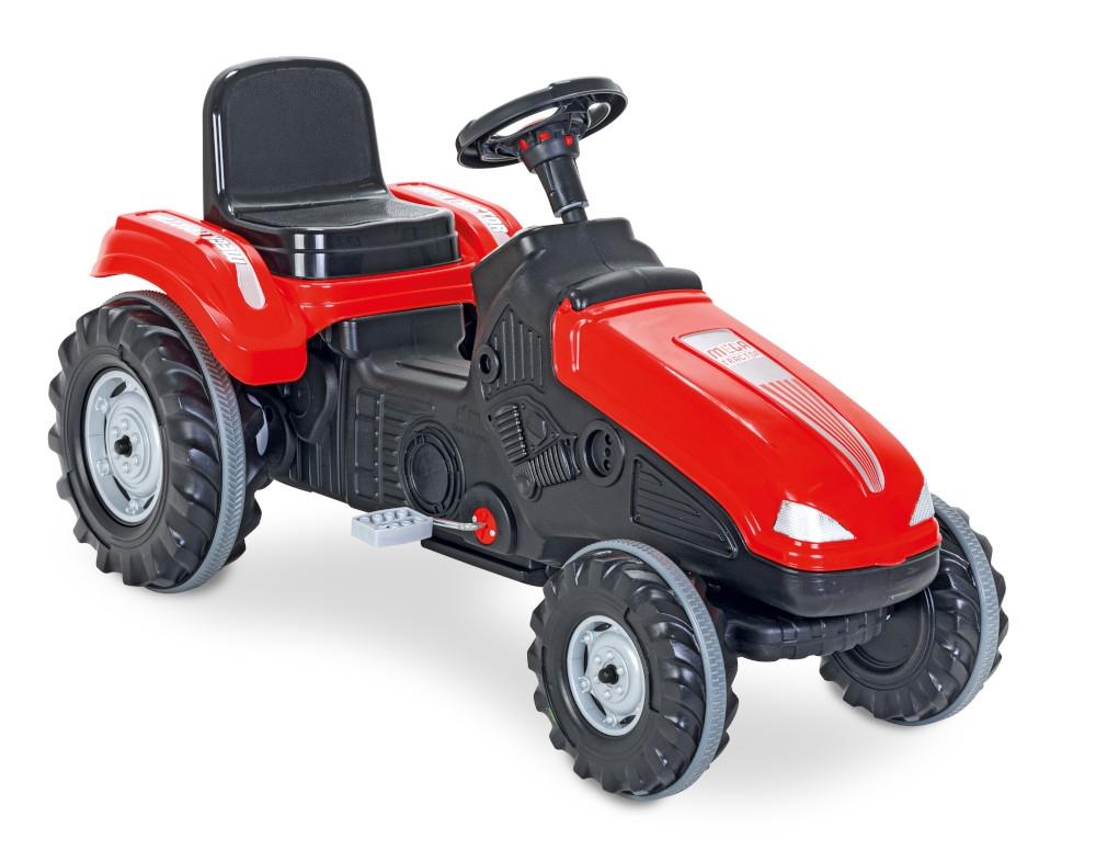 Tractor cu pedale Pilsan Mega 07-321 red - 2