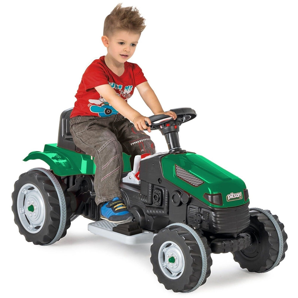 Tractor electric Pilsan Active 05-116 green - 1