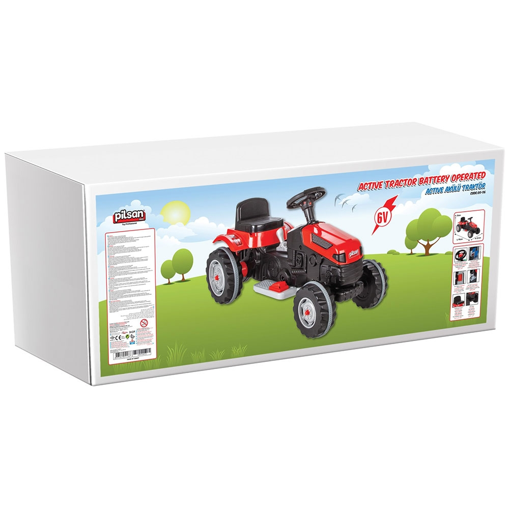 Tractor electric Pilsan Active 05-116 green - 2