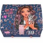 Cutie de bijuterii mare cu cod You, Me and CatsTop Model Depesche PT11329