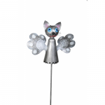 Decoratiune gradina pisicuta cu tija model morisca