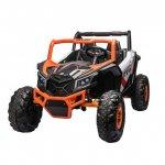 Masinuta electrica 12V cu 4 motoare Nichiduta 4x4 UTV MX Orange/White