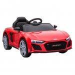 Masinuta electrica 12V cu scaun din piele si roti EVA Audi R8 Red