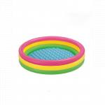 Piscina gonflabila copii Intex Rainbow design 290 litri 147 x 33 cm