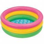 Piscina gonflabila copii Intex Sunset glow baby pool 50 litri 61 x 22 cm