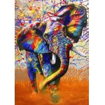 Puzzle Bluebird African Colours 1500 piese