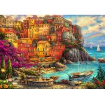 Puzzle Bluebird Chuck Pinson A Beautiful Day At Cinque Terre 2000 piese