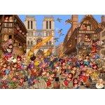 Puzzle Bluebird La Cour des Miracles 2000 piese