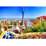Puzzle Bluebird Park Guell Barcelona 1000 piese