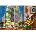 Puzzle Castorland Doorway Room View 1000 piese