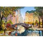 Puzzle Castorland Evening Walk Through Central Park 1000 piese